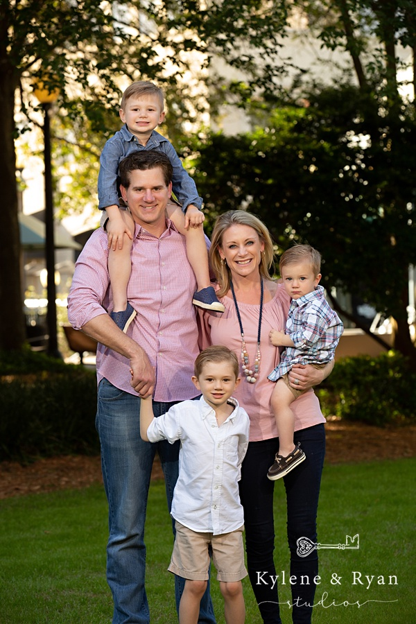 The Kleman Family Portrait Session | Kleman Plaza, Tallahassee Florida