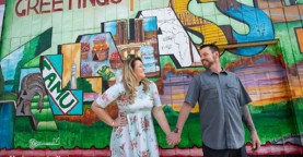 Alison & Matt | Engagement Love, Downtown Tallahassee