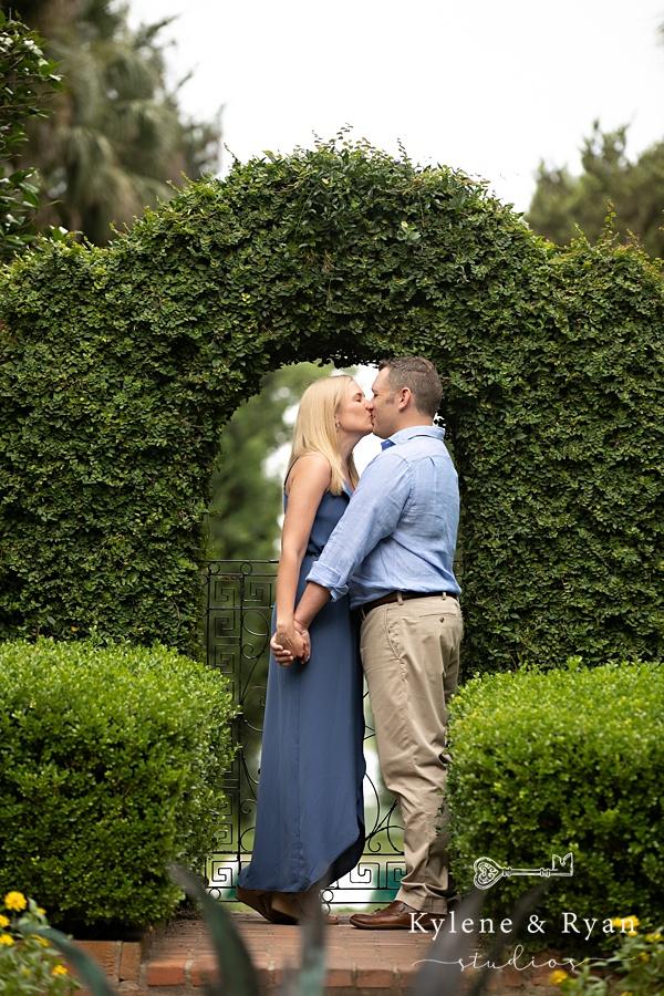 Bree & Brad | Engagement Love at Maclay Gardens
