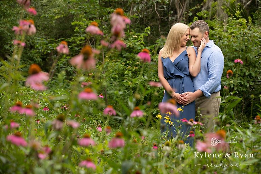 Bree & Brad   Engagement Love at Maclay Gardens