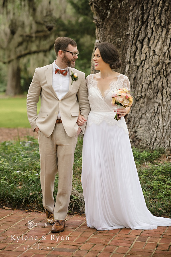 Kelly & Ryan | a Private Pandemic Ceremony  Goodwood Gardens, Tallahassee, FL Wedding